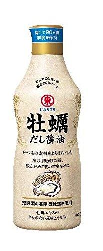 ヒガシマル醤油 牡蛎だし醤油400ml×3本