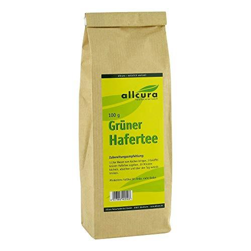 allcura Grüner Hafertee, 100 g Tee
