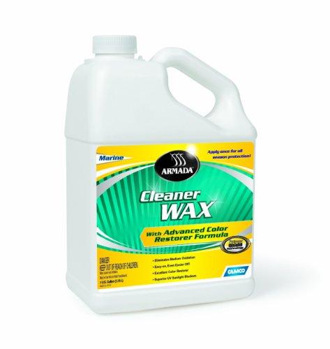 camco rv waxes Camco 40977 Armada Cleaner Wax - 1 gallon