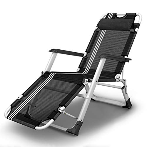 Silla de Cámping Plegable de Playa con Respaldo reclinable Tumbona - for...