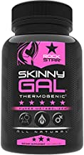 Skinny Gal Weight Loss Pills for Women, Diet Pills, Appetite Suppressant Support, Thermogenic Fat Burner by Rockstar, 60 Veggie Caps
