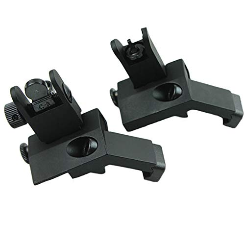 Evans Unlimited Hunting Accessories BUIS Offset Backup Iron Sights for...