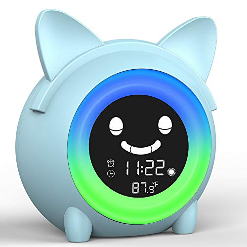 Kids Alarm Clock for Bedroom,Alarm Clock for Kids,Toddlers Alarm Clock...