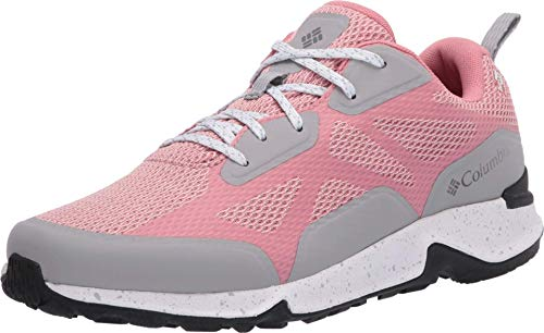 Columbia Women's Vitesse Outdry Performance Shoes, Waterproof & Breathable Hiking, Canyon Rose/Ti Grey Steel, 7.5 Regular US