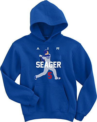 The Silo Blue Seager Los Angeles AIR Hooded Sweatshirt Adult
