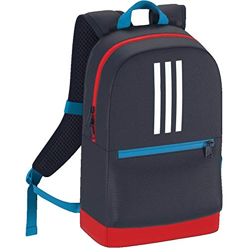 adidas Kinder 3S BP Rucksack, Collegiate Navy/Active Red/White, 35 cm