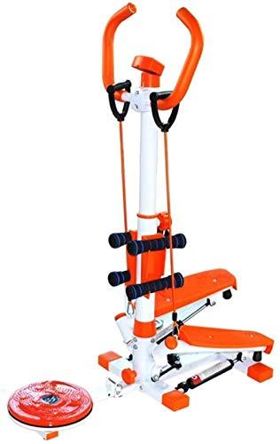 JISHIYU Máquina elíptica Cross Trainer Stepper Home Máquina de pérdida de peso silenciosa multifuncional que adelgaza la torcedura gimnasio equipo de fitness comercial Teniendo 100 kg con mancuernas