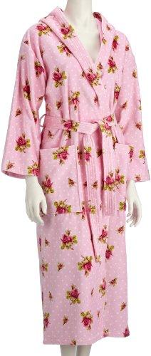 PIP badjas - roze en stippen, katoen roze (roze)