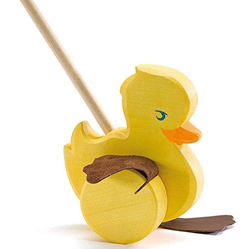 Ente bunt zum Schieben Schiebeente Ostheimer Kinderkram 5510024