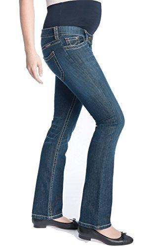 Christoff Designer Jeans Boot-Cut extralang Damen Jeanshose Umstandsmode 673/89-40 Length: 36