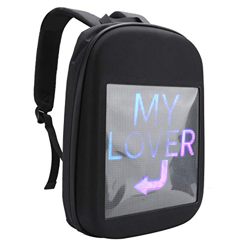 Durable Portable LED Screen Easy to Operate Convenient LED Backpack Computer Backpack for Laptops and Tablets