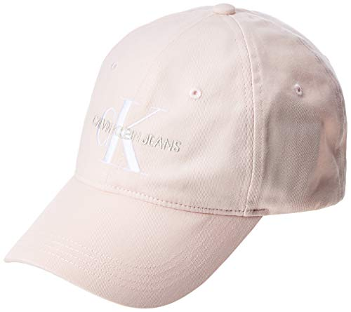 Calvin Klein Damen K60k606246 Baseball Cap, Pink (Crystal Pink Tcf), One Size (Herstellergröße: OS)