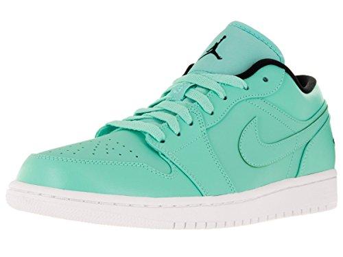 Nike Air Jordan 1 Low, Zapatillas de Baloncesto para Hombre, Turquesa (Hyper Turq/Black-White), 42 1/2 EU