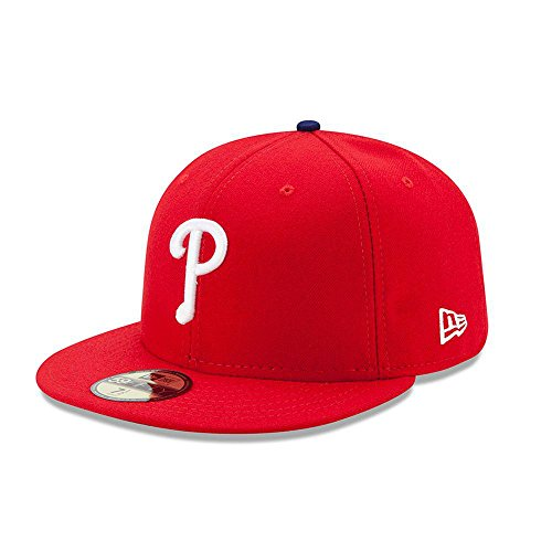 New Era Philadelphia Phillies AC Performance Game 59fifty Fitted Cap Authentic