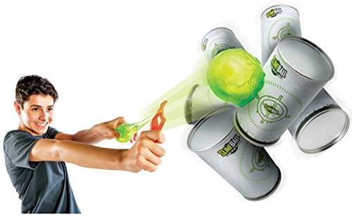 Diggin Slimeball Arcade Flinger Darts Toy Sling Shot Launcher Target Can Set product image