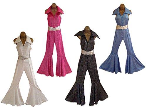 sowest Kostüm 70er Jahre 80er Jahre Retro Jumpsuit