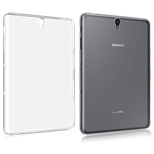 iCoverCase Samsung Galaxy Tab S3 9.7 Inch T825/T820 Clear Case, Ultra Thin Clear Transparent Case Anti-Slip Flexible Slim-Fit Soft TPU Gel Skin Back Cover for Samsung Galaxy Tab S3 9.7 Inch T825