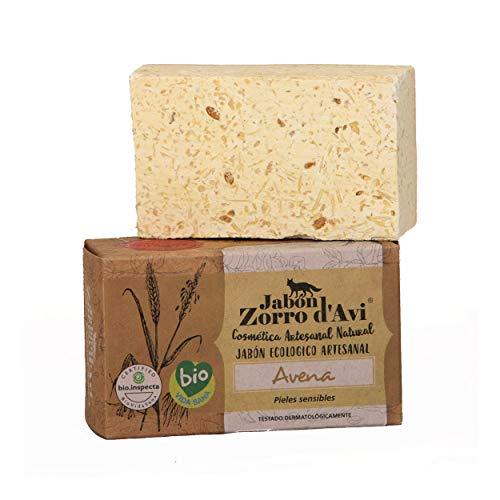 Jabón Zorro D'Avi Jabón Natural Ecológico de Avena para