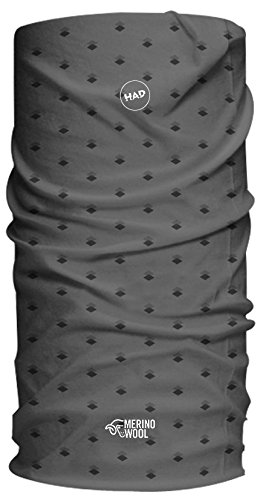 Had Merino/one Size Funktionstuch, Grey Rhombus