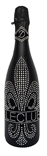 Das Sekt Geschenk Cuvée Le Club trocken mit über 1000 geschliffenen Schmuckkristallen | tolles Geschenk für Muttertag, Frau, Freundin, Weihnachten, Geburtstag, Valentinstag