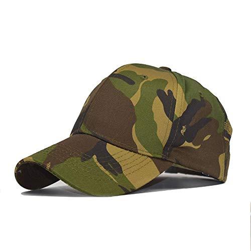 Casquette Homme Chapeau Casquette De Camouflage Extérieure Mode Pare-Soleil Casquette D'Été pour Femmes Hommes Jaune Vert Casquettes Tactiques Baseball Réglable Beigeyellowcap