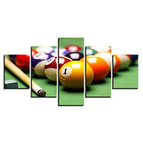 HD Leisure Club Dekoration Malerei Multi-Joint Billard-Spiel Verarbeitung Poster Sale