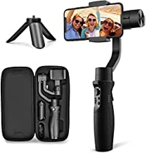 3-Axis Gimbal Stabilizer for iPhone X XR XS Smartphone Vlog Youtuber Live Video Record with Sport Inception Mode Face Object Tracking Motion Time-Lapse - Hohem Isteady Mobile Plus (Upgraded New)