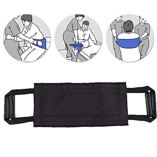 Patient ältere Übertragung bewegendes Band Rollstuhl Bett Pflege Aufzug Gürtel mit Griffen He-alth Pflege Rückenstütze