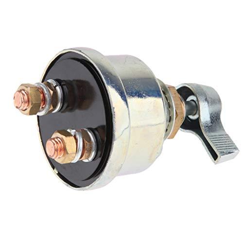 KESOTO 12-V-Motorrad Batterietrennschalter Diebstahlschutz Kleinbatterie Schalter Für PKW