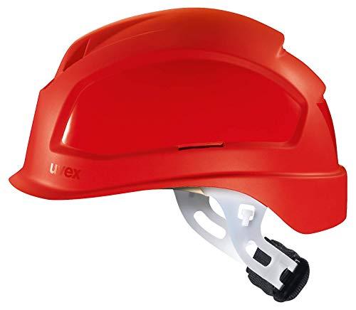 Uvex Pheos E-S-WR - Casco protector sin ventilación para electricistas, color rojo