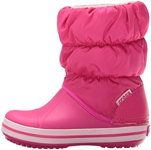 crocs Winter Puff Boot Unisex-Kinder Schneestiefel - 6