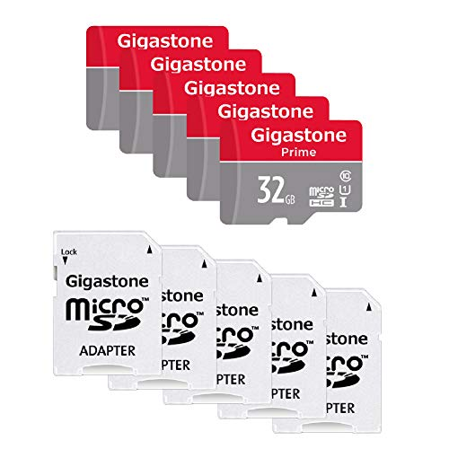 Our #5 Pick is the Gigastone Micro SD Card 32 GB (5 Pack)