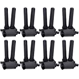FAERSI Ignition Coil Pack of 8# UF504, C1526 Replacement for Jeep V8 5.7L 6.1L 6.4L - Chrysler 300, Aspen & Dodge Challenger, Charger, Durango, Magnum, Ram & Commander More, Years 2005-2016