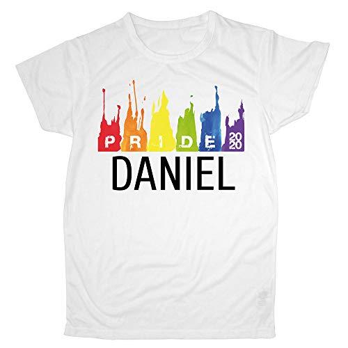 LolaPix Camiseta Día del Orgullo Gay LGTBQ Personalizada con tu Nombre o Texto | Varios Diseños y Tallas a Elegir | Regalo Original y Exclusivo Pride