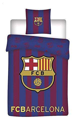 Fc Barcelone Parure de lit réversible - Housse de Couette 14