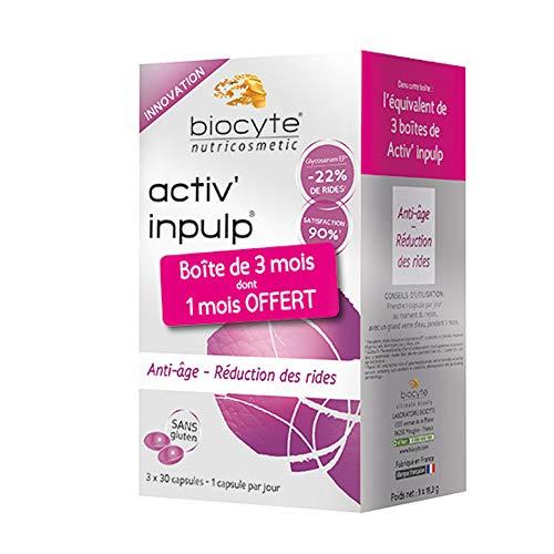 Biocyte Pack Activ' Inpulp Anti-Âge Multi-Vitamines et Minéraux 3 x 30 Capsules