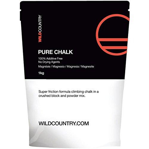 Wildcountry Pure Chalk Pack 1 kg, Weiß