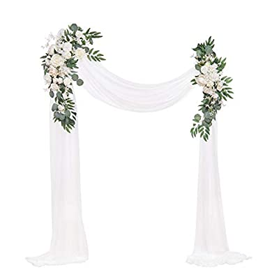 wedding arch flowers decorations