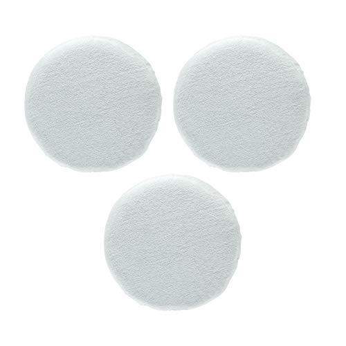 Unviersal Polierhauben Set mit Gummiband (3x Textilhauben) für Auto Poliermaschinen mit 25 cm, 250 mm Polierteller Durchmesser
