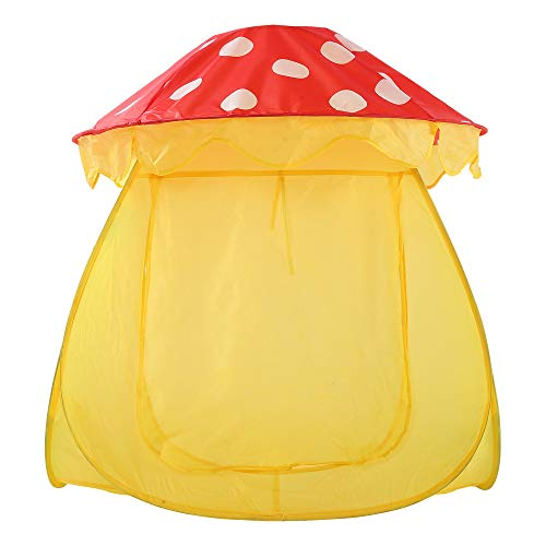 Review Of Sviper Kids Play Tunnels Creative Mushroom Design Kids Play Tent Foldable Indoor Toys Play...