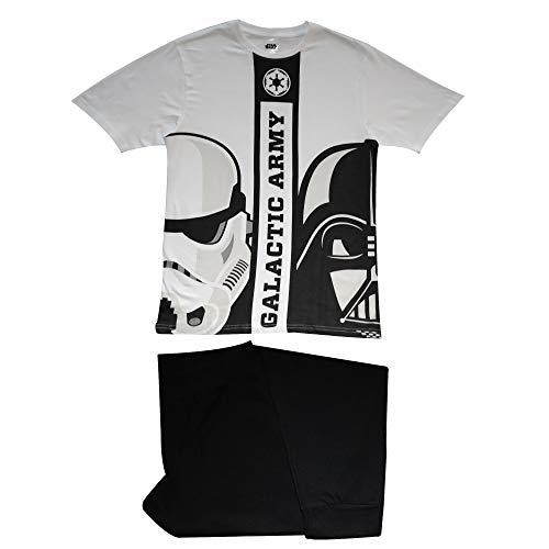 Star Wars Galactic Army - Pijama para hombre multicolor L