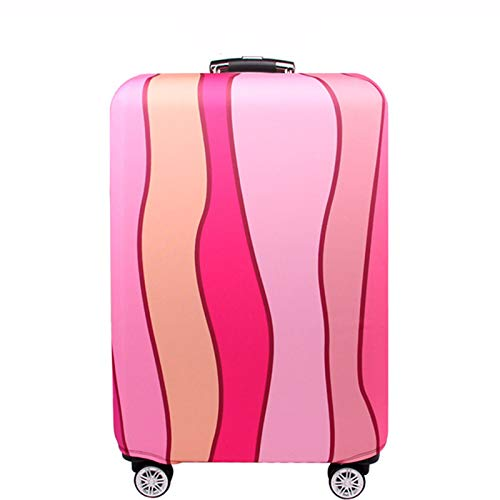 WSJMJ - Funda protectora elástica para maleta, antipolvo, para maleta, para maletas, para maletas, para maletas, de 18 a 32 pulgadas, C, M