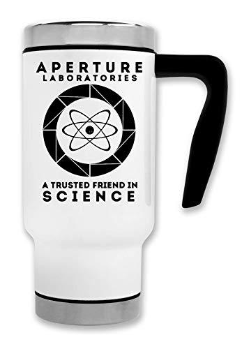 ShutUp Portal Science Thermische Reise-Kaffee-Tee-Tasse
