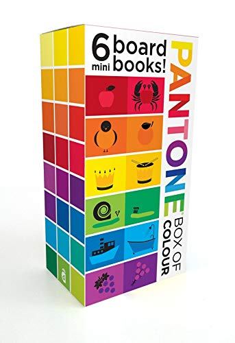 Pantone: Box of Colour: 6 Mini Board Books!