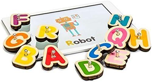 orden ahora disfrutar de gran descuento Marbotic Marbotic Marbotic Smart Letters - Connected Learning Toy For Tablets by Marbotic  suministro directo de los fabricantes