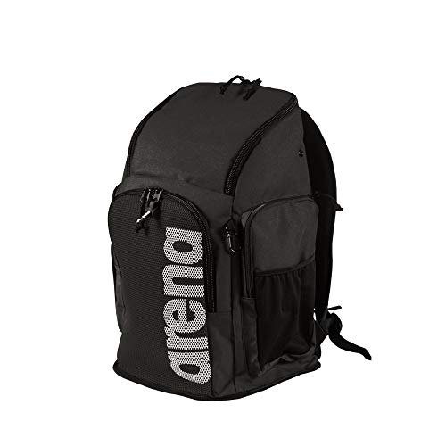 ARENA Team 45 Swim Backpack, Melange Bolsa Team Backpack 45 Team Schwarz...