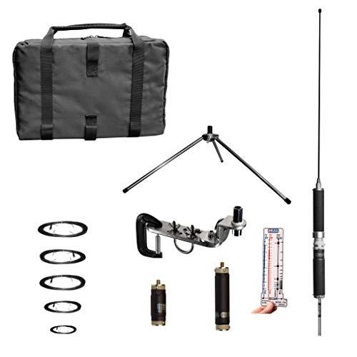 Super Antenna MP1DXMAX Low Profile Tripod 80m-10m HF +2m VHF Portable Antenna with Go Bags ham Radio Amateur