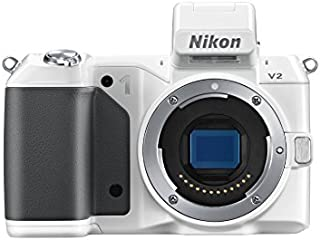 Nikon 1 V2 14.2 MP HD Digital Camera Body Only (White)