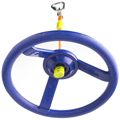 41glfmwGqSL. SL500  - Cateam Rueda giratoria Ninja Line con articulación giratoria de 360 grados y mosquetón ninjaline, accesorio giratorio de 360 grados para tu carrera de obstáculos