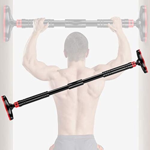 AIWITHPM Klimmzugstange Verstellbare【70-100cm】 Fitness - Stange für Türrahmen, ohne Schrauben - Pull Up Bar für Türe - Tür Klimmzug Stange als Home Gym bis zu 350kg Tragkraft